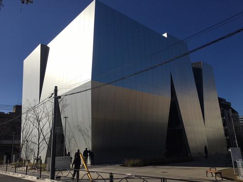建築レポート 「すみだ北斎美術館」
